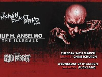 PHILIP ANSELMO's Concerts In New Zealand Canceled, Reportedly Because Of Nazi Salute And 'White Power' Remarks