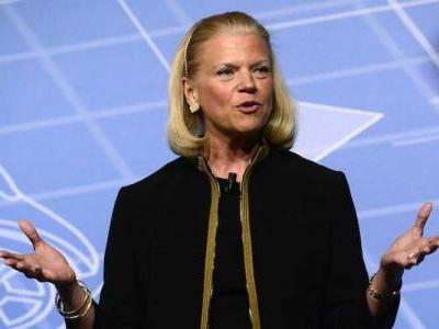 IBM down more than 5% despite delivering a beat in quarterly earnings