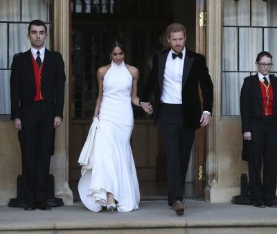 Meghan Markle debuts second dress for royal reception