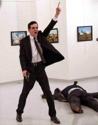 An Iconic Photograph of an Assassination Is the World Press Photo of the Year