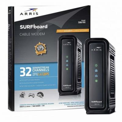 Grab an ARRIS SURFboard on sale today and stop renting your cable modem