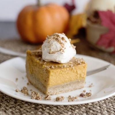 Creamy Pumpkin Pie Bars