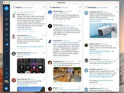 TweetDeck for Mac updated to run natively on Apple Silicon M1 chip
