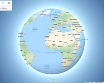 Google Maps now shares battery level, shows Earth isn't flat
