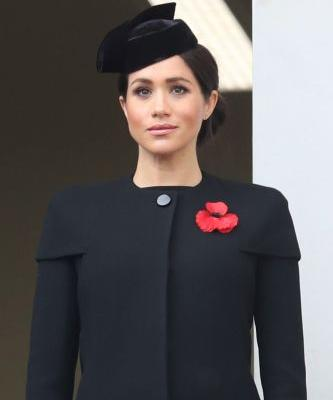 Meghan Markle Wore a Thing: Black Givenchy Coat and Dress Edition
