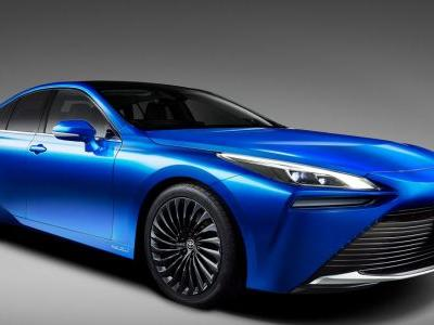Behold, The Surprisingly Attractive Second-Gen Toyota Mirai Concept