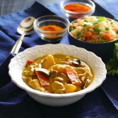 Instant Pot Thai Yellow Curry
