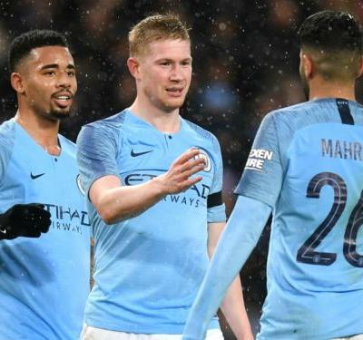 Manchester City 5 Burnley 0: De Bruyne shines in FA Cup triumph