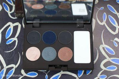 Laura Mercier Editorial Eye Palette Intense Clays & Clay Smudge Brush