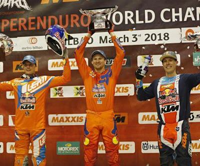 WEBB MAINTAINS SUPERENDURO WORLD CHAMPIONSHIP POINTS LEAD WITH 3RD OVERALL AT PENULTIMATE ROUND