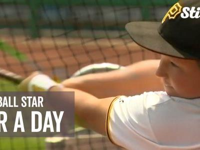 MLB team signs 10-year-old boy to team for one day as part of Make-A-Wish program