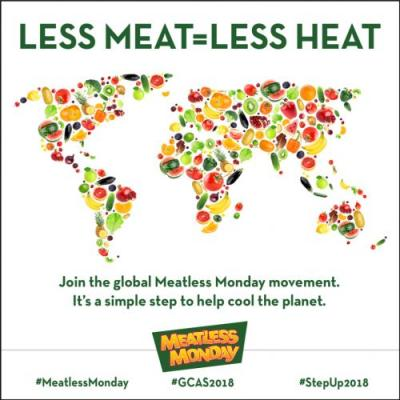 Meatless Monday Joins the Global Climate Action Summit
