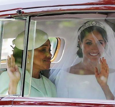 Meghan Markle's mom kept her nose ring for the royal wedding - and people are obsessed
