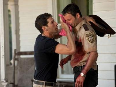 THE WALKING DEAD's Bringing Jon Bernthal Back to Watch Rick Cry One Last Time
