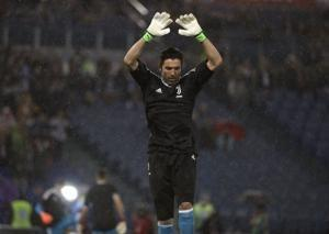 UEFA charges Buffon after red card; Simeone appeal dismissed