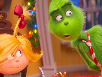 'The Grinch' easily wins the weekend box office, while 'Girl in the Spider's Web' bombs