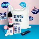 BABE's Election Night Survival Kit Comes With a Scream Pillow and, of Course, Wine