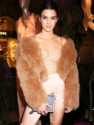 Watch Kendall Jenner Model Lingerie While Impersonating Marilyn Monroe