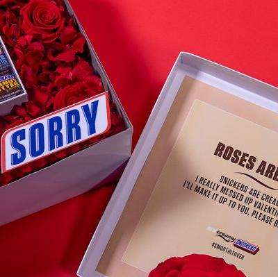 Here's How To Get A Creamy Snickers Bouquet To Keep The Valentine's Day Celebrations Going