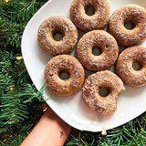 Santa's Waistline Is About to Get a Lot Smaller With These Keto Gingerbread Doughnuts
