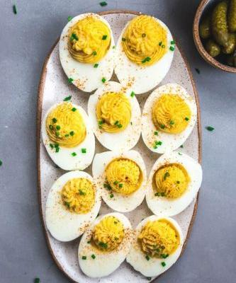 The Perfect Appetizer: Classic Deviled Eggs