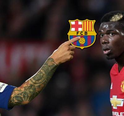 Pogba to Barcelona rumours fuelled as Man Utd star meets Messi in Dubai