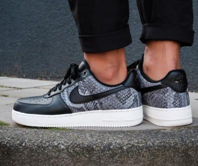 Nike's Air Force 1 Low Drops in a Luxe Snakeskin-Themed Model