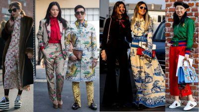 Of Course Showgoers Wore Gucci on Day 1 of Milan Fashion Week