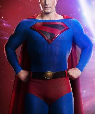 Arrow Crossover: First Photo Of Brandon Routh As Kingdom Come Superman From Crisis On Infinite Earths