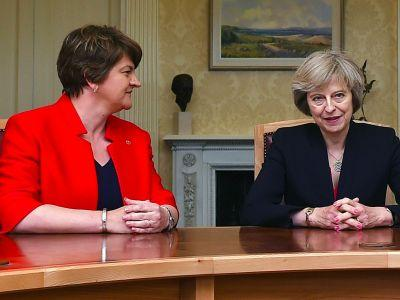 Theresa May's government could be taken to court over its plan to form a pact with the DUP