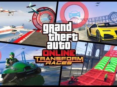 GTA Online: Transform race creator goes live, Lazer jet available to buy