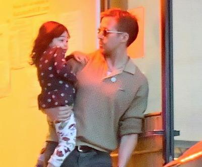 Ryan Gosling and Eva Mendes Take Their Daughters on a Dinner Date - See the Sweet Family Pics!