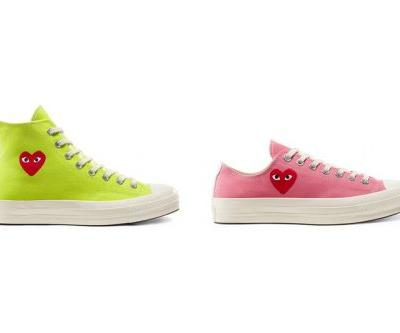 COMME des GARÇONS PLAY x Converse Chuck 70 Appears in Spring-Ready Colorways
