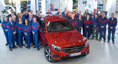 Mercedes GLC Starts Rolling Off The Line At Valmet In Finland