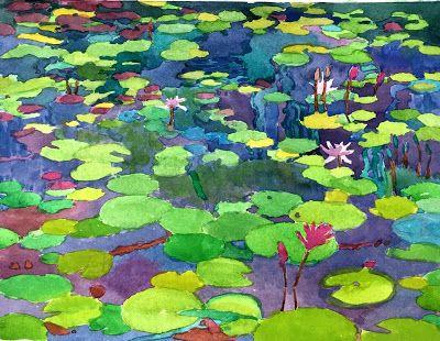 "CAC ""Summer Impressions"" includes ""Lily Pond"""