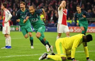 Tottenham's turn for miracle comeback as last-second goal sinks Ajax