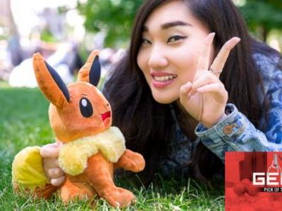 GEEK PICK: My Friend Eevee Pokemon Animated Plush