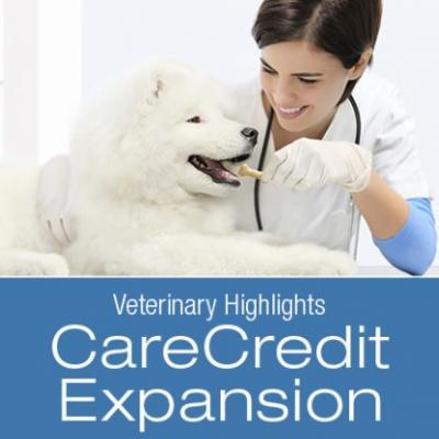 Veterinary Highlights: CareCredit Platform Expansion