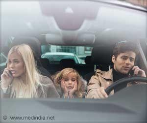 Most Parents Use Cell Phones while Driving with Their Children