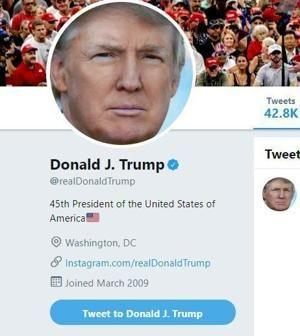 Twitter put Trump's account in temporary time-out over false COVID-19 claims