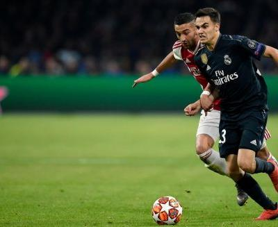 Real Madrid edges Ajax in Champions League first leg match
