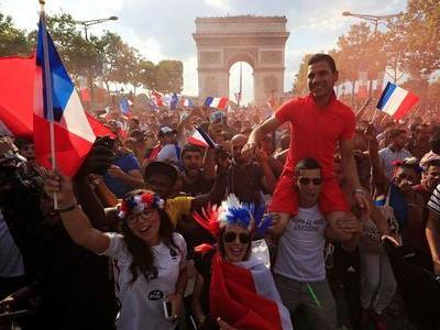 From Paris to Moscow, France fans go wild after thrilling World Cup win