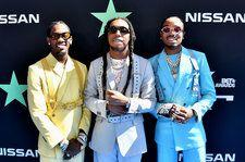 Migos Get Rowdy With Mustard & 'Pure Water' at the 2019 BET Awards