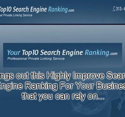 Highly Improve Search Engine Ranking For Your Business