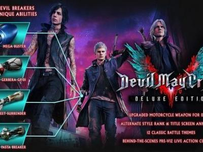 Capcom Details Devil May Cry 5 Deluxe Edition's Devil Breakers