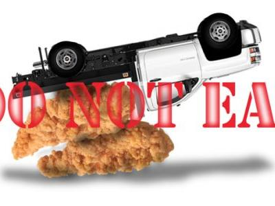 Police Are Telling Motorists Not to Stop and Eat Chicken Tenders Spilled on Highway But They Have to Say That