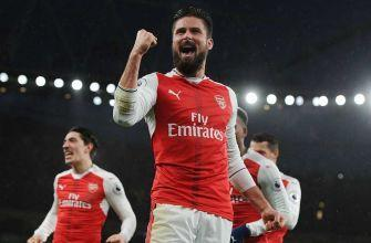 EPL Notes: Giroud's brilliance leads Arsenal; Tottenham in pursuit of top spot