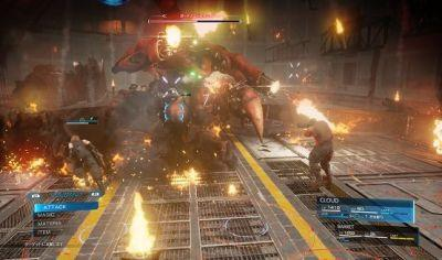 Square Enix Shares New Kingdom Hearts III and Final Fantasy VII Remake Screenshots