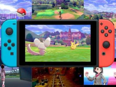 Switch sales in the UK rise 30% thanks to Pokemon Sword and Shield, Switch the best-selling console in the UK for 2019 so far