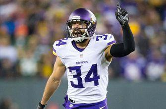 Vikings' Sendejo fined more than $53K for hit on Packers' Adams